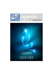 agenda LEMOA Abendua 2014