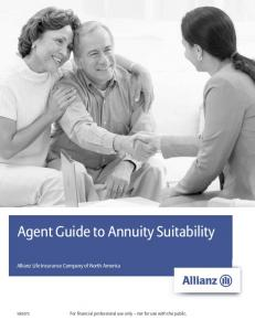 Agent Guide to Annuity Suitability