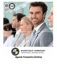 Agente Funerario (Online)