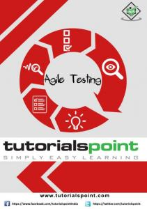 Agile Testing is a software testing practice that follows the principles of agile software development