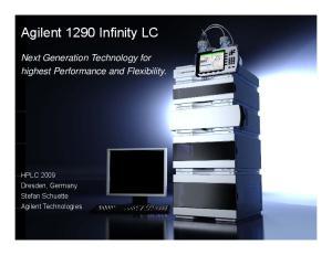Agilent 1290 Infinity LC