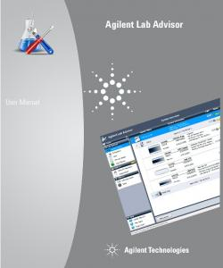 Agilent Lab Advisor. User Manual. Agilent Technologies