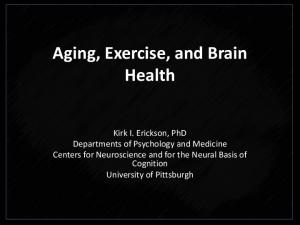 Aging, Exercise, and Brain Health