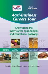 Agri-Business Careers Tour