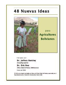 Agricultores Bolivianos