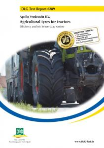 Agricultural tyres for tractors