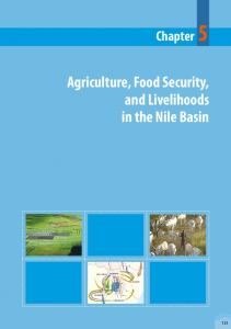 Agriculture, Food Security, and Livelihoods in the Nile Basin