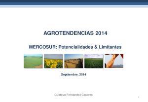 AGROTENDENCIAS 2014 MERCOSUR: