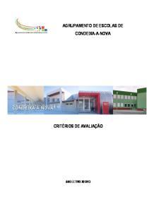 AGRUPAMENTO DE ESCOLAS DE CONDEIXA-A-NOVA
