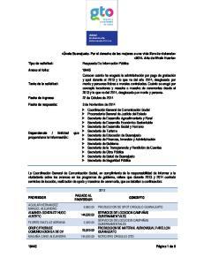 AGUILAR HERNANDEZ 6, PRODUCCION DE SPOT ORGULLO GUANAJUATO MANUEL ALEJANDRO ALMANZA GONZALEZ HUGO
