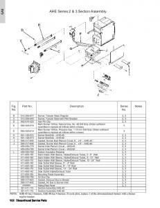 AHE Series 2 & 3 Section Assembly
