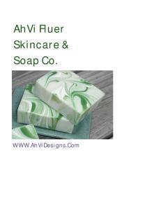 AhVi Fluer Skincare & Soap Co