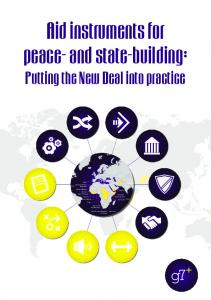 Aid instruments for peace- and state-building: