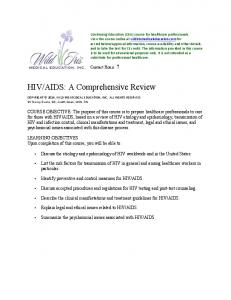 AIDS: A Comprehensive Review