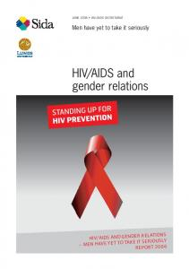 AIDS and gender relations