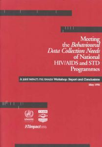 AIDS and STD Programmes