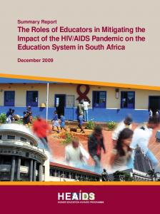 AIDS Pandemic on the Education System in South Africa