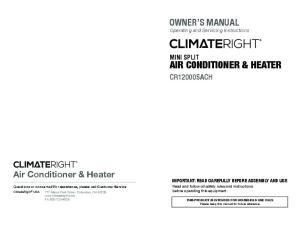 AIR CONDITIONER & HEATER