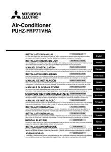 Air-Conditioner PUHZ-FRP71VHA
