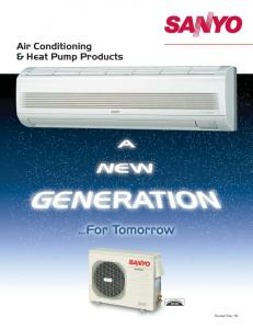 Air Conditioning & Heat Pump Products