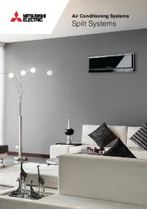 Air Conditioning Systems Split Systems