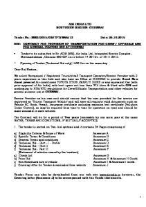 AIR INDIA LTD SOUTHERN REGION: CHENNAI