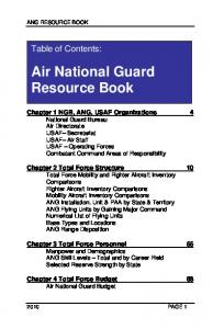 Air National Guard Resource Book
