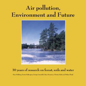 Air pollution, Environment and Future
