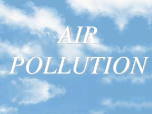 AIR POLLUTION. I. Air Pollution and Health