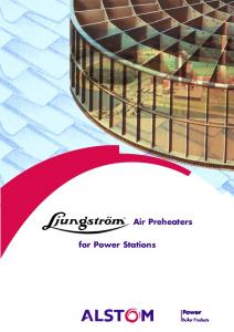 Air Preheaters. for Power Stations. Power. Boiler Products