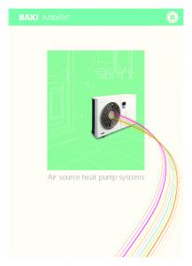 Air source heat pump systems