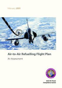 Air-to-Air Refuelling Flight Plan