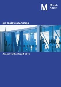 AIR TRAFFIC STATISTICS. Annual Traffic Report 2012