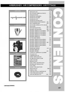 AIRBRUSHES - AIR COMPRESSORS - AIR FITTINGS