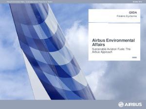 Airbus Environmental Affairs