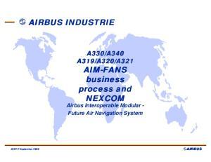 Airbus Interoperable Modular - Future Air Navigation System