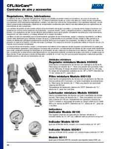 AirCare MR Controles de aire y accesorios