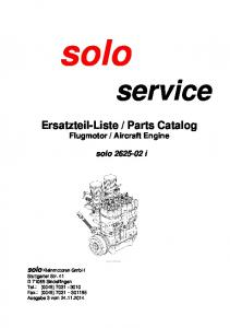 Aircraft Engine solo i
