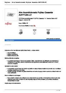 Aire Acondicionado Fujitsu Cassette AUY71UIA-LV