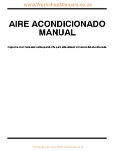 AIRE ACONDICIONADO MANUAL