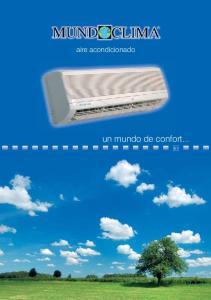 aire acondicionado un mundo de confort