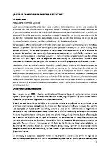 AIRES DE CAMBIO EN LA MINERIA ARGENTINA?