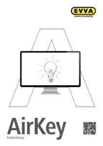 AirKey. Kurzanleitung