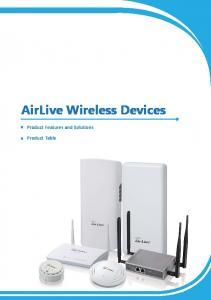 AirLive Wireless Devices