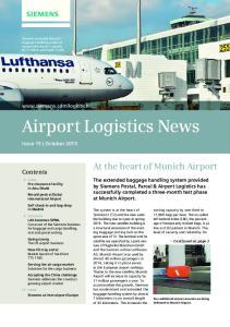 Airport Logistics News