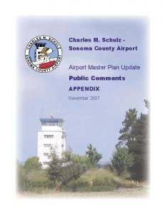 Airport Master Plan Update Public Comments