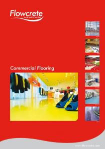 Airports. Retail. Commercial Flooring. Stadia. Hospitals. Education. Leisure