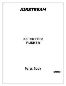 AIRSTREAM 35 CUTTER PUSHER