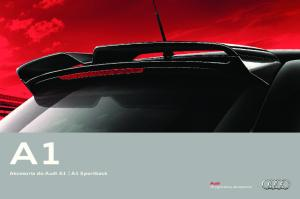 Akcesoria do Audi A1 A1 Sportback. Oryginalne akcesoria