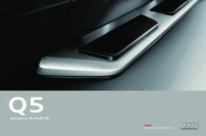 Akcesoria do Audi Q5. Oryginalne akcesoria